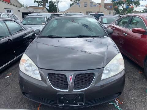 2006 Pontiac G6 for sale at Park Avenue Auto Lot Inc in Linden NJ