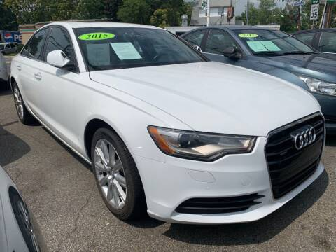 2015 Audi A6 for sale at Park Avenue Auto Lot Inc in Linden NJ