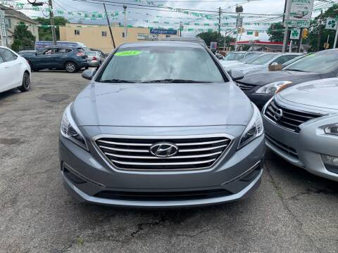 2015 Hyundai Sonata for sale at Park Avenue Auto Lot Inc in Linden NJ