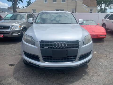 2009 Audi Q7 for sale at Park Avenue Auto Lot Inc in Linden NJ