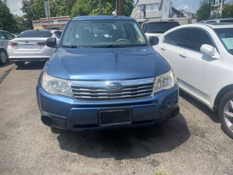 2009 Subaru Forester for sale at Park Avenue Auto Lot Inc in Linden NJ