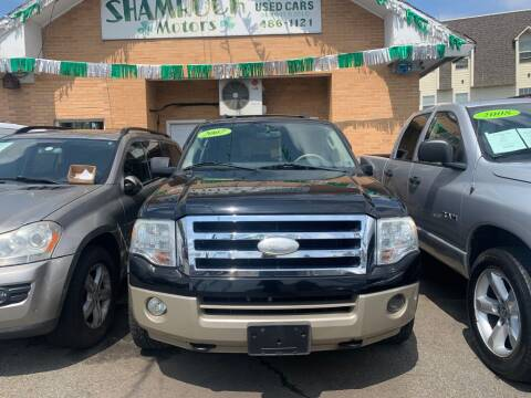 2007 Ford Expedition EL for sale at Park Avenue Auto Lot Inc in Linden NJ
