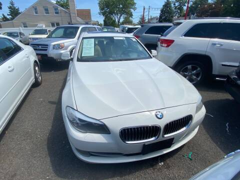 2013 BMW 5 Series for sale at Park Avenue Auto Lot Inc in Linden NJ