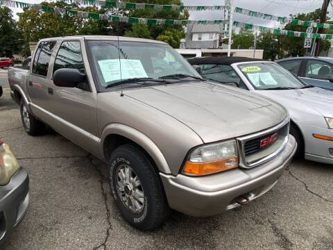2002 GMC Sonoma for sale at Park Avenue Auto Lot Inc in Linden NJ
