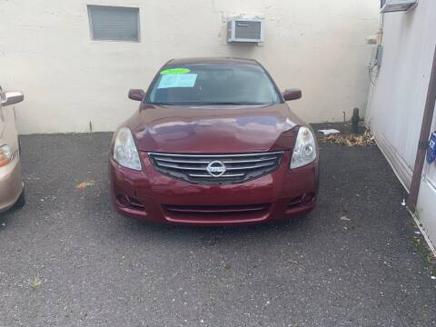 2011 Nissan Altima for sale at Park Avenue Auto Lot Inc in Linden NJ
