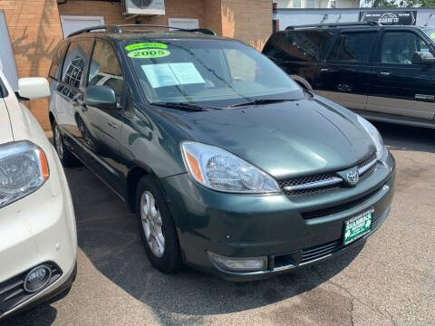 2005 Toyota Sienna for sale at Park Avenue Auto Lot Inc in Linden NJ