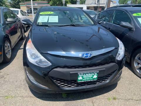 2013 Hyundai Sonata Hybrid for sale at Park Avenue Auto Lot Inc in Linden NJ