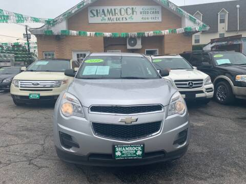 2010 Chevrolet Equinox for sale at Park Avenue Auto Lot Inc in Linden NJ