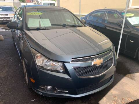 2012 Chevrolet Cruze for sale at Park Avenue Auto Lot Inc in Linden NJ