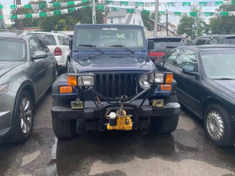 2002 Jeep Wrangler for sale at Park Avenue Auto Lot Inc in Linden NJ