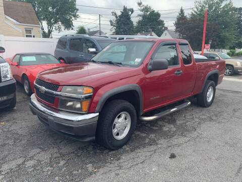 2004 Chevrolet Colorado for sale at Park Avenue Auto Lot Inc in Linden NJ