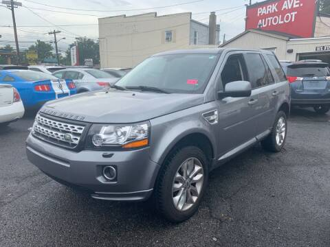 2014 Land Rover LR2 for sale at Park Avenue Auto Lot Inc in Linden NJ
