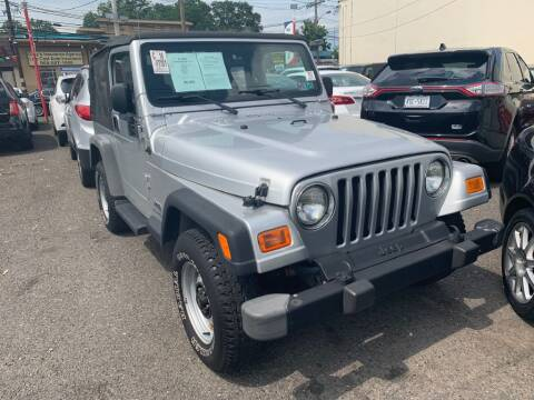 2004 Jeep Wrangler for sale at Park Avenue Auto Lot Inc in Linden NJ