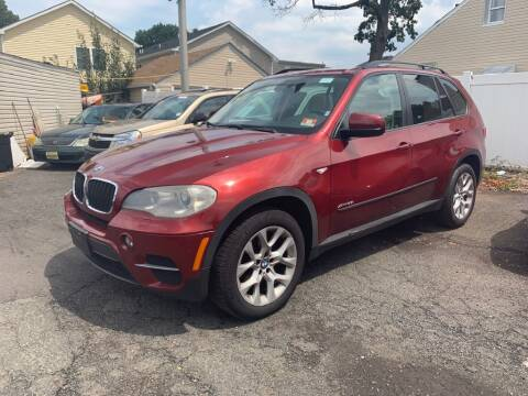 2012 BMW X5 for sale at Park Avenue Auto Lot Inc in Linden NJ