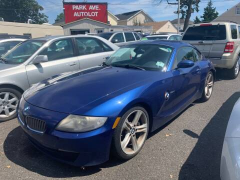 2008 BMW Z4 for sale at Park Avenue Auto Lot Inc in Linden NJ