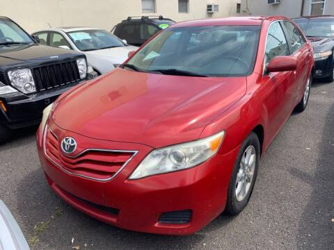 2010 Toyota Camry for sale at Park Avenue Auto Lot Inc in Linden NJ