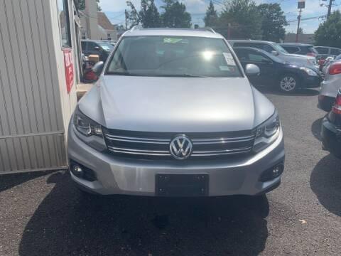 2012 Volkswagen Tiguan for sale at Park Avenue Auto Lot Inc in Linden NJ