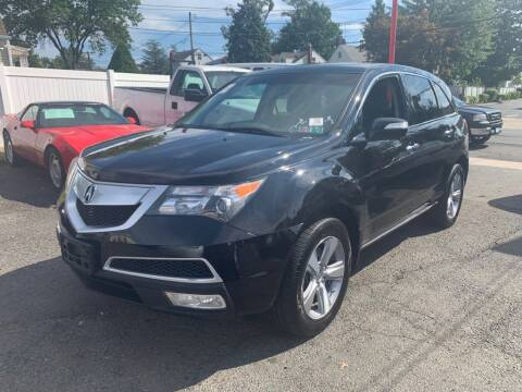 2012 Acura MDX for sale at Park Avenue Auto Lot Inc in Linden NJ