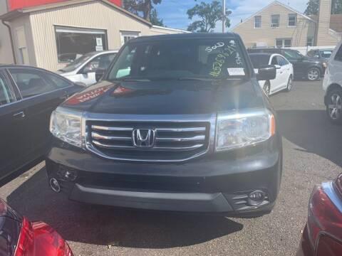 2013 Honda Pilot for sale at Park Avenue Auto Lot Inc in Linden NJ