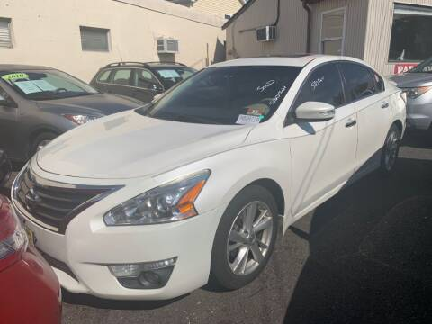 2013 Nissan Altima for sale at Park Avenue Auto Lot Inc in Linden NJ