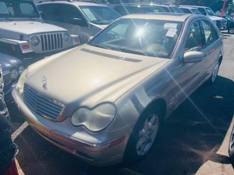 2004 Mercedes-Benz C-Class for sale at Park Avenue Auto Lot Inc in Linden NJ