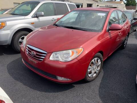 2010 Hyundai Elantra for sale at Park Avenue Auto Lot Inc in Linden NJ