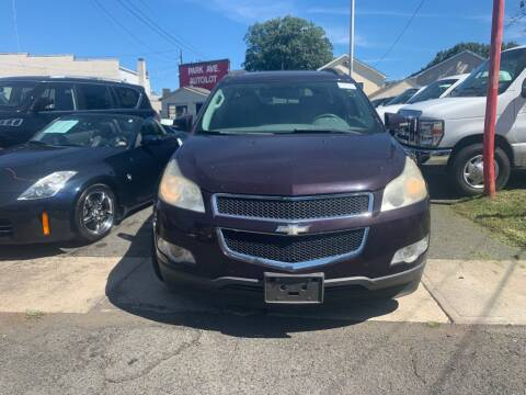 2009 Chevrolet Traverse for sale at Park Avenue Auto Lot Inc in Linden NJ