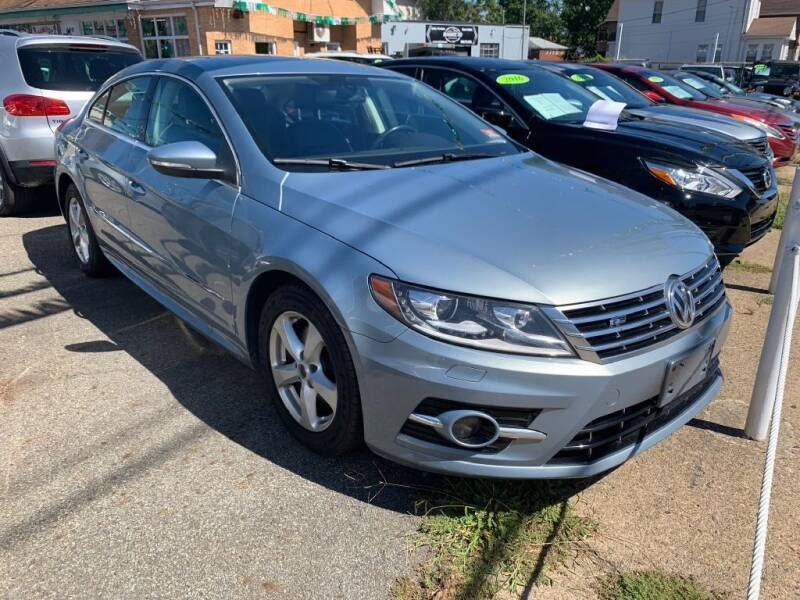2013 Volkswagen CC for sale at Park Avenue Auto Lot Inc in Linden NJ