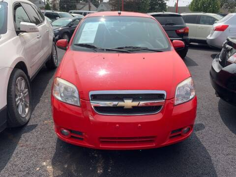 2010 Chevrolet Aveo for sale at Park Avenue Auto Lot Inc in Linden NJ