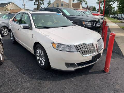 2012 Lincoln MKZ for sale at Park Avenue Auto Lot Inc in Linden NJ