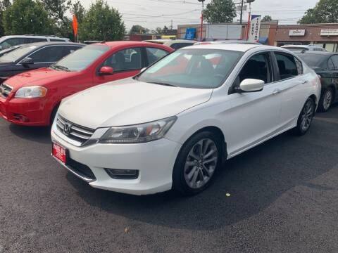 2013 Honda Accord for sale at Park Avenue Auto Lot Inc in Linden NJ