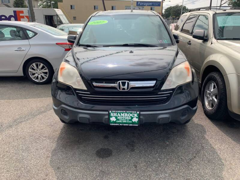 2007 Honda CR-V for sale at Park Avenue Auto Lot Inc in Linden NJ