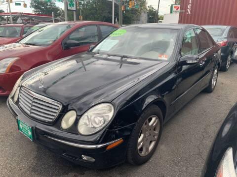 2005 Mercedes-Benz E-Class for sale at Park Avenue Auto Lot Inc in Linden NJ