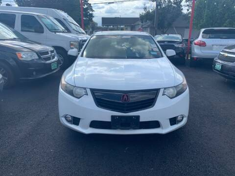 2012 Acura TSX for sale at Park Avenue Auto Lot Inc in Linden NJ
