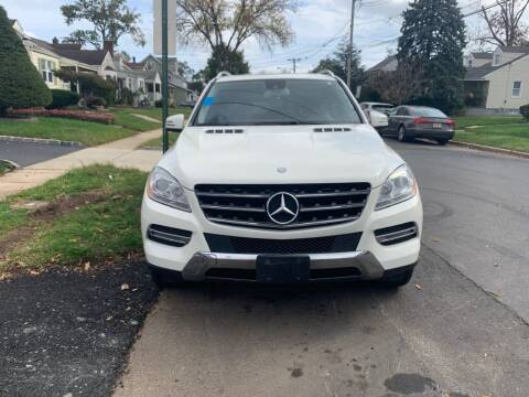 2013 Mercedes-Benz M-Class for sale at Park Avenue Auto Lot Inc in Linden NJ