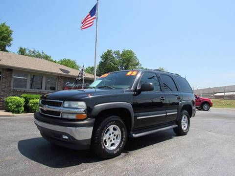 2005 Chevrolet Tahoe for sale at D & J AUTO SALES in Joplin MO