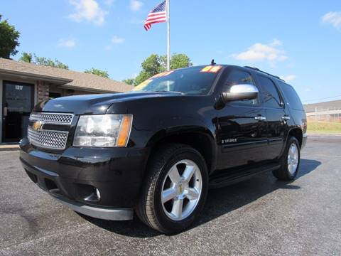 2008 Chevrolet Tahoe for sale at D & J AUTO SALES in Joplin MO