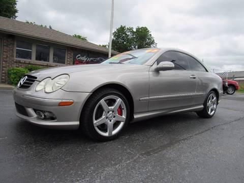 2005 Mercedes-Benz CLK for sale at D & J AUTO SALES in Joplin MO