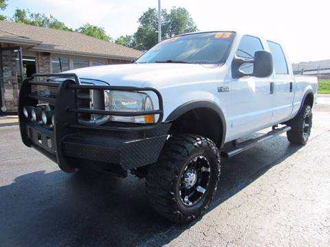 2003 Ford F-250 Super Duty for sale at D & J AUTO SALES in Joplin MO