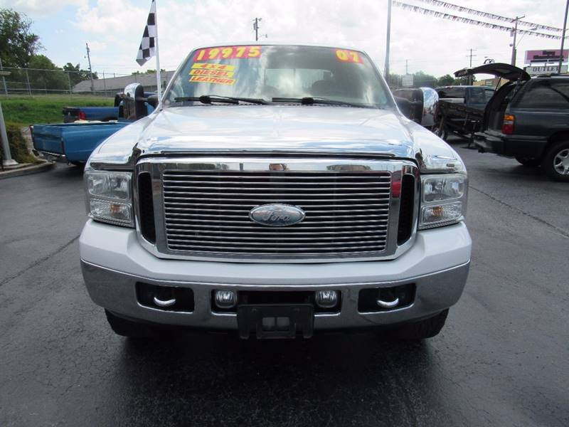 2007 Ford F-250 Super Duty for sale at D & J AUTO SALES in Joplin MO