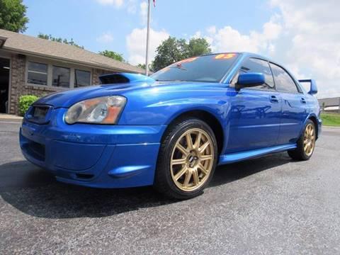 2005 Subaru Impreza for sale at D & J AUTO SALES in Joplin MO