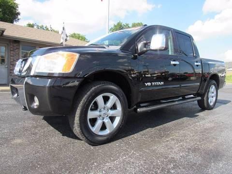 2009 Nissan Titan for sale at D & J AUTO SALES in Joplin MO
