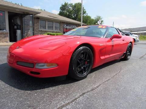 2001 Chevrolet Corvette for sale at D & J AUTO SALES in Joplin MO