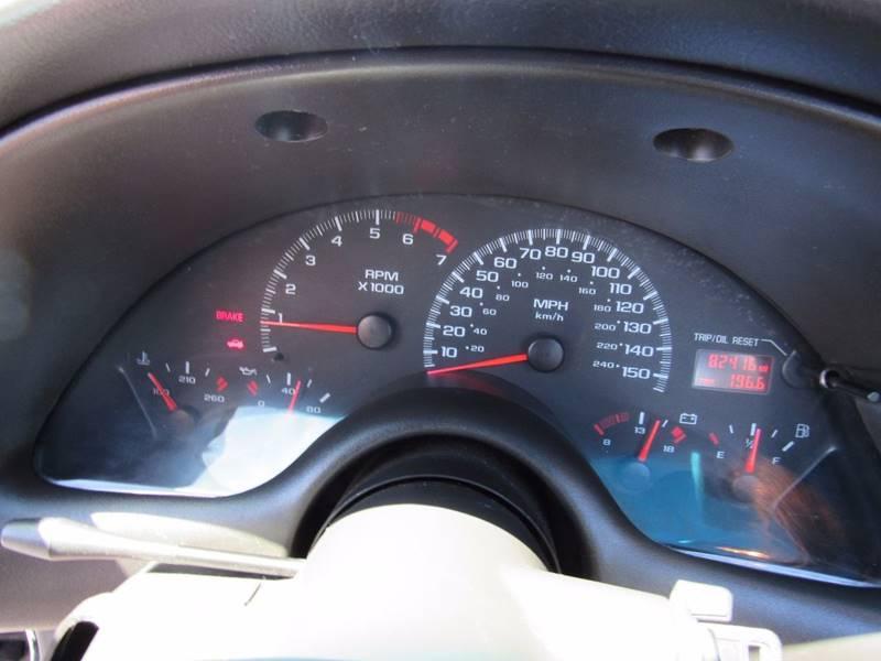 2001 Chevrolet Camaro for sale at D & J AUTO SALES in Joplin MO