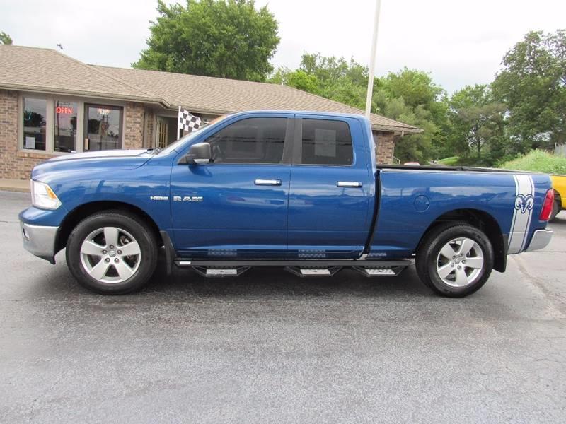 2010 Dodge Ram Pickup 1500 for sale at D & J AUTO SALES in Joplin MO
