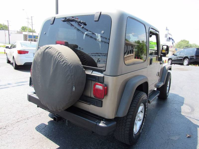 2005 Jeep Wrangler for sale at D & J AUTO SALES in Joplin MO