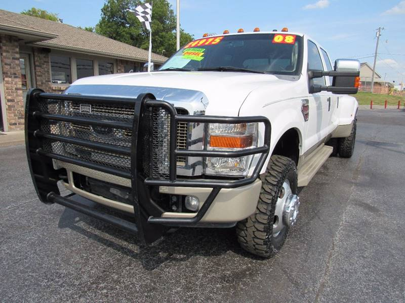 2008 Ford F-350 Super Duty for sale at D & J AUTO SALES in Joplin MO