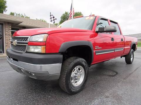 2005 Chevrolet Silverado 2500HD for sale at D & J AUTO SALES in Joplin MO