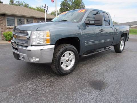 2012 Chevrolet Silverado 1500 for sale at D & J AUTO SALES in Joplin MO