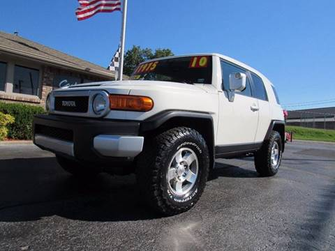 2010 Toyota FJ Cruiser for sale at D & J AUTO SALES in Joplin MO